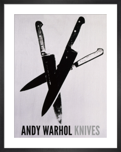 Knives, c.1981-82 (three black) by Andy Warhol