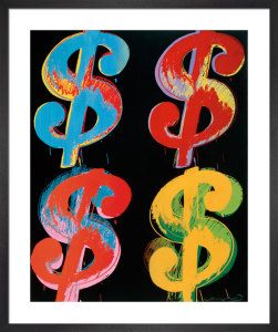 $4, 1982 by Andy Warhol