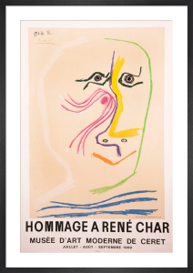 Hommage a Rene Char by Pablo Picasso
