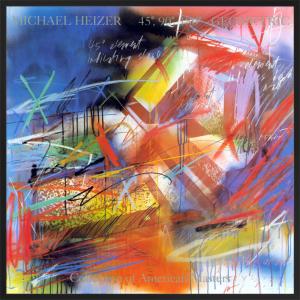 45, 90, 180 Geometric by Michael Heizer