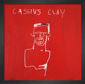 Cassius Clay, 1982 by Jean-Michel Basquiat