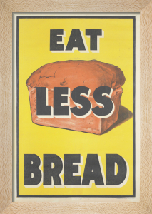 Eat Less Bread by Anonymous