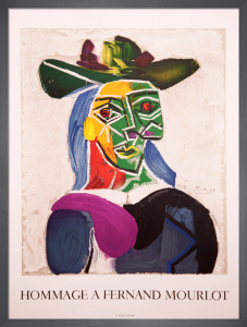 Hommage a Fernand Mourlot, 1990 by Pablo Picasso