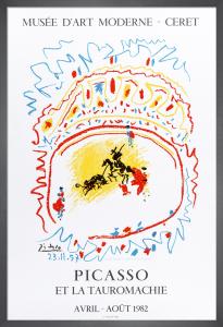 Picaas et la Tauroachie, 1982 by Pablo Picasso