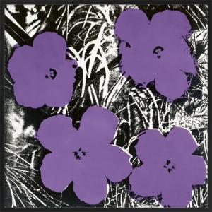 Flowers, c.1964 (4 purple) by Andy Warhol