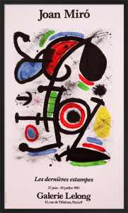 Les Dernieres Estampes by Joan Miro