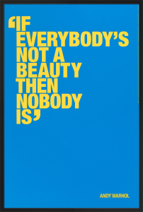 Not a beauty (Special Edition) by Andy Warhol
