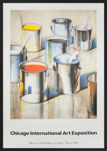 Paint Cans, 1990 by Wayne Thiebaud