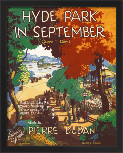 Hyde Park in September by Anonymous