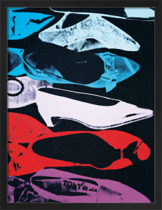 Diamond Dust Shoes, 1980 (parallel) by Andy Warhol