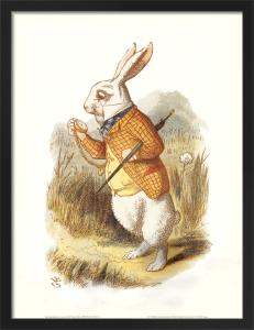 The White Rabbit, 1890 by Sir John Tenniel