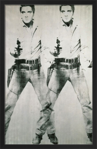 Double Elvis, 1963 by Andy Warhol