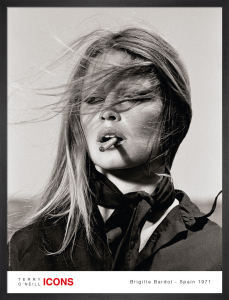 Brigitte Bardot - Spain 1971 by Terry O'Neill