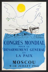 Congres Mondial pour le Desarmement General et la Paix, 1962 by Pablo Picasso