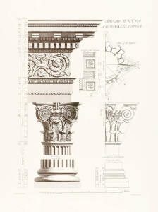 Orders of Architecture: The Roman or Composite Order by Sir William Chambers