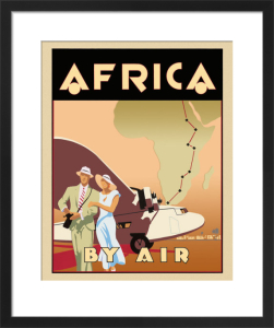 Africa by Air by Brian James