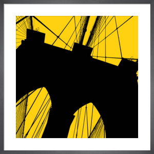 Brooklyn Bridge (yellow) by Erin Clark