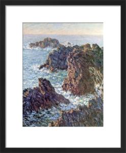 Rock Points at Belle-Ile, 1886 by Claude Monet
