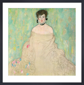 Portrait of Amalie Zuckerkandl (unfinished), 1917-1918 by Gustav Klimt