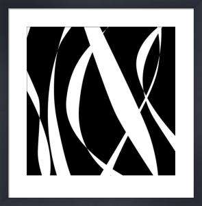 Fistral Nero Blanco III by Denise Duplock