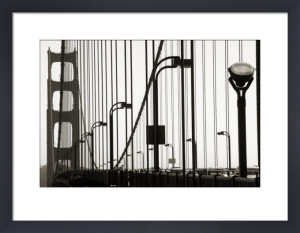 Golden Gate Bridge in Silhouette by Christian Peacock