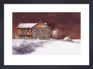Evening at Knabb Farm by Bradley Hendershot