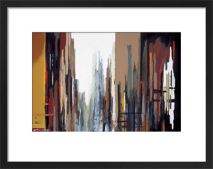 Urban Abstract No. 165 by Gregory Lang