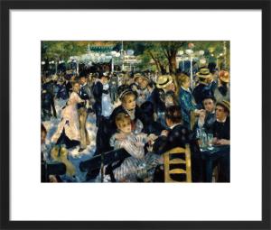 Le Moulin de la Galette 1876 by Pierre Auguste Renoir