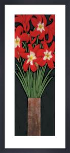 Red Hot Lilies by Rachel Rafferty