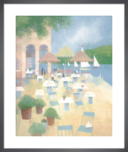 Lunch at the Yacht Club by Albert Swayhoover