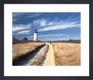 Cape Poge Lighthouse by Paul Rezendes