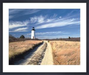 Cape Poge Lighthouse by Paul Rezendes