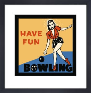 Have Fun Bowling by Retro Series