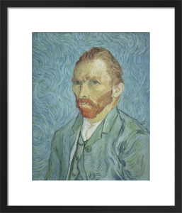 Self Portrait by Vincent Van Gogh