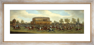 The Race for the St Leger Stakes of 1812 on Doncaster Course by Clifton Thomson