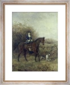 Sporting Elegance by Heywood Hardy