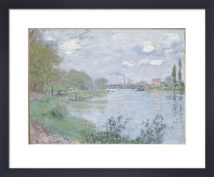 Les Bords de la Seine a la Grande Jatte by Claude Monet