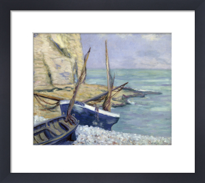 Bateaux a Etretat, 1909 by Theodore Earl Butler