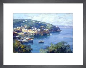 View of Portofino by Italian School