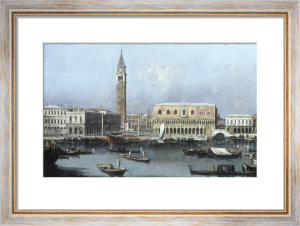 Venice, the Molo from the Bacino di San Marco by Giovanni Canaletto