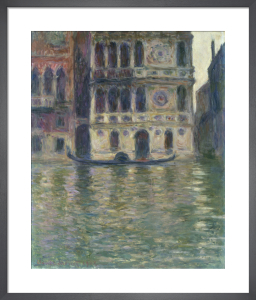 Le Palais Dario, Venise by Claude Monet