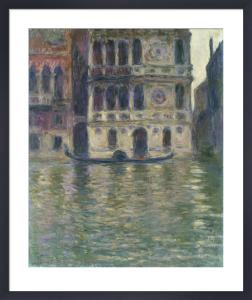Le Palais Dario, Venise by Claude Monet