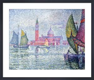 Venise, Saint-Georges by Paul Signac