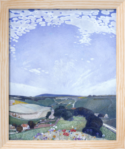 Bishopstone, Sussex by Edward Reginald Frampton