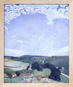 Bishopstone, Sussex by Edward Reginald Frampton