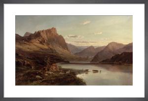 The Western Highlands by Alfred de Breanski