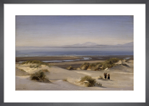 Crossing the Sandhills, Cardigan Bay, Wales, 1868 by Henry Moore