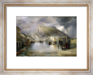 Polperro, Cornwall, 1907 by Thomas Moran