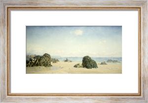 These Yellow Sands, 1880s by John Brett