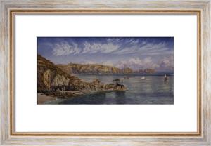 Saint's Bay, Guernsey, 1885 by John Brett
